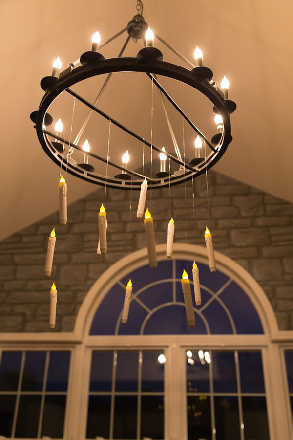 Harry-Potter-party-using-hanging-candle