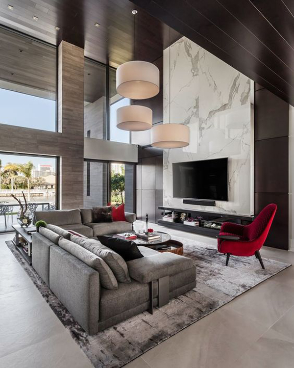 Interior-design-with-hanging-lamps