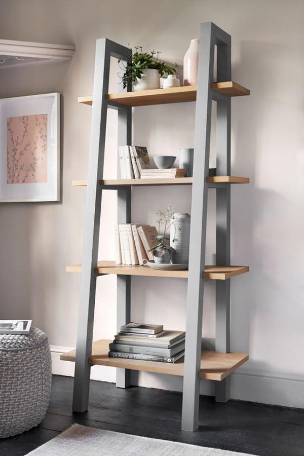 Iron-ladder-shelf