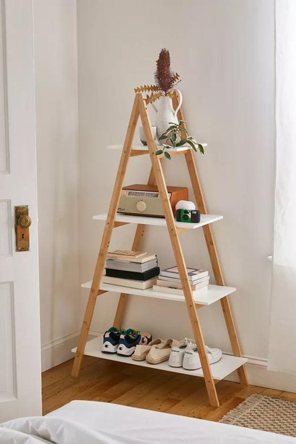 Ladder-bokshelf