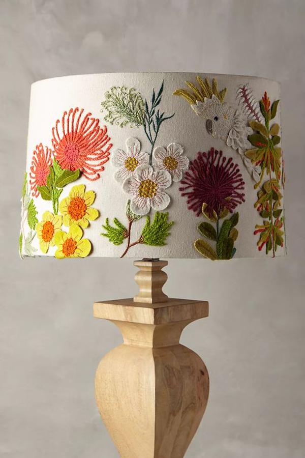 Lamp-shade-flower-theme