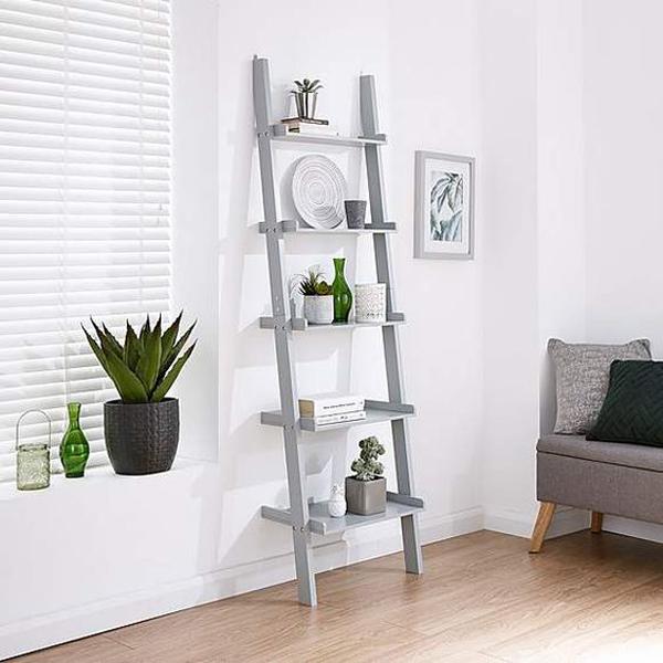 Large-ladder-shelving-unit