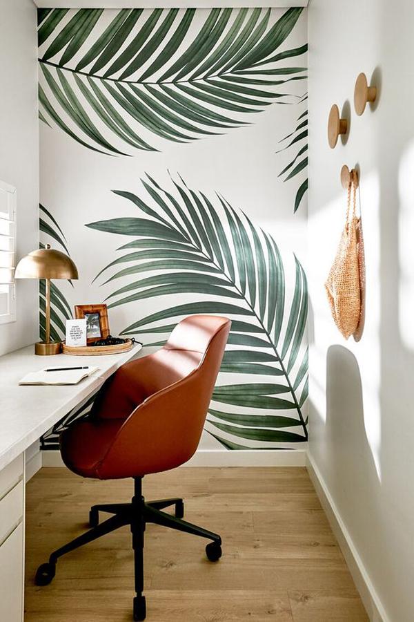 Plants-murals-decoration