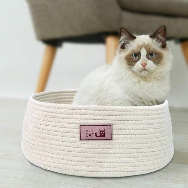 Round-cat-bed-basket