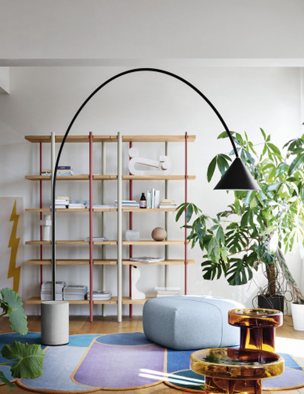 Living-room-lighting-placed-on-the-chair