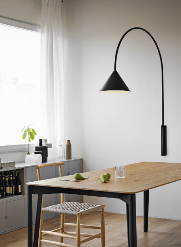 Living-room-lighting-placed-on-the-table