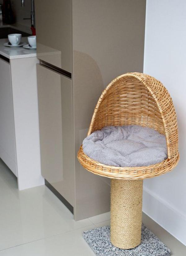 Standing-cat-basket