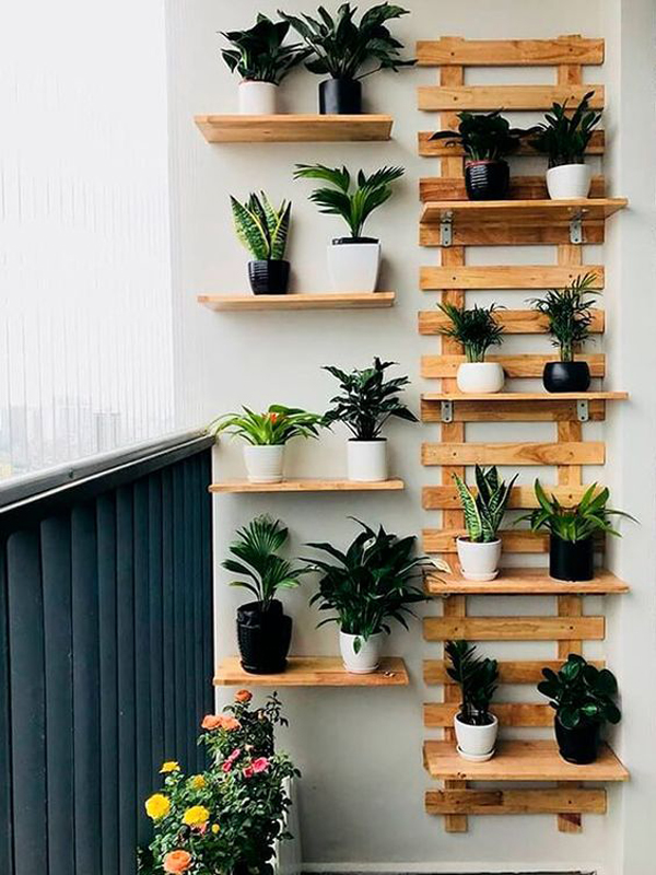 Vintage-vertical-garden