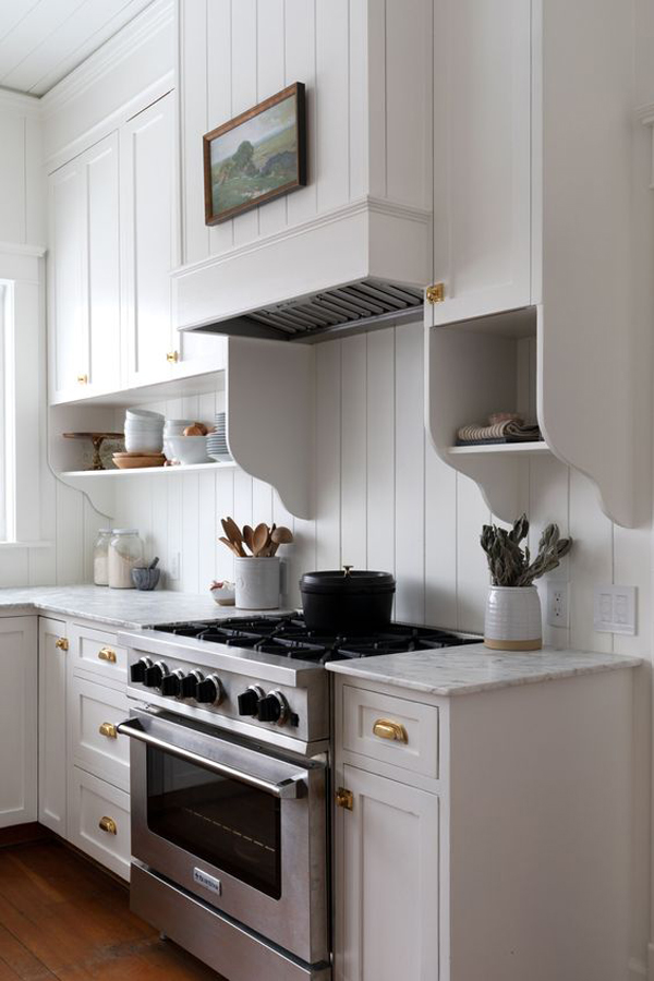 White-color-for-kitchen-design