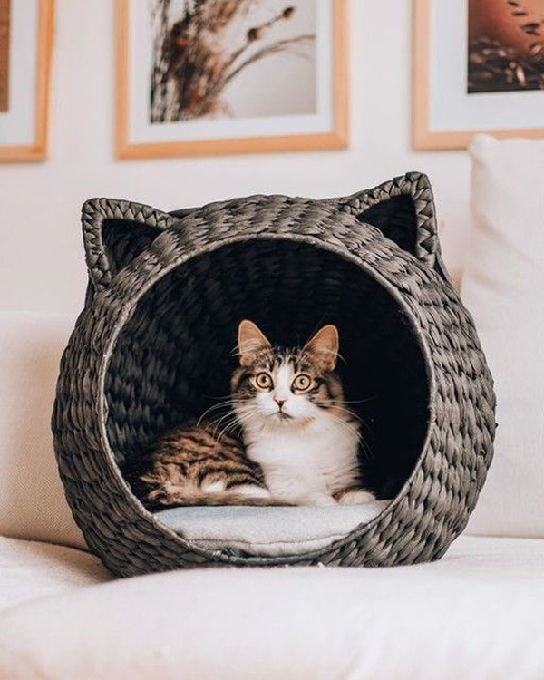Woven-cat-house