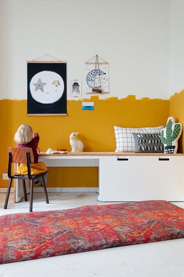 Yellow-murals-design