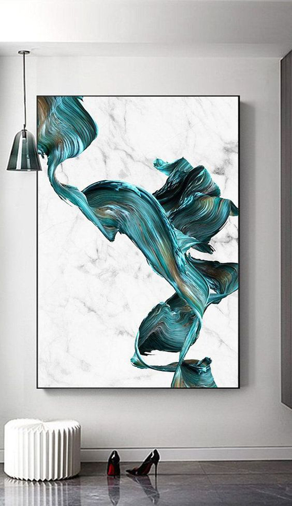 Abstract-painting-with-water-wave