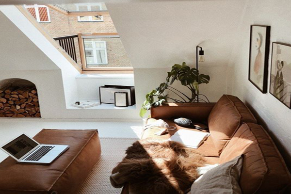 Attic-living-room
