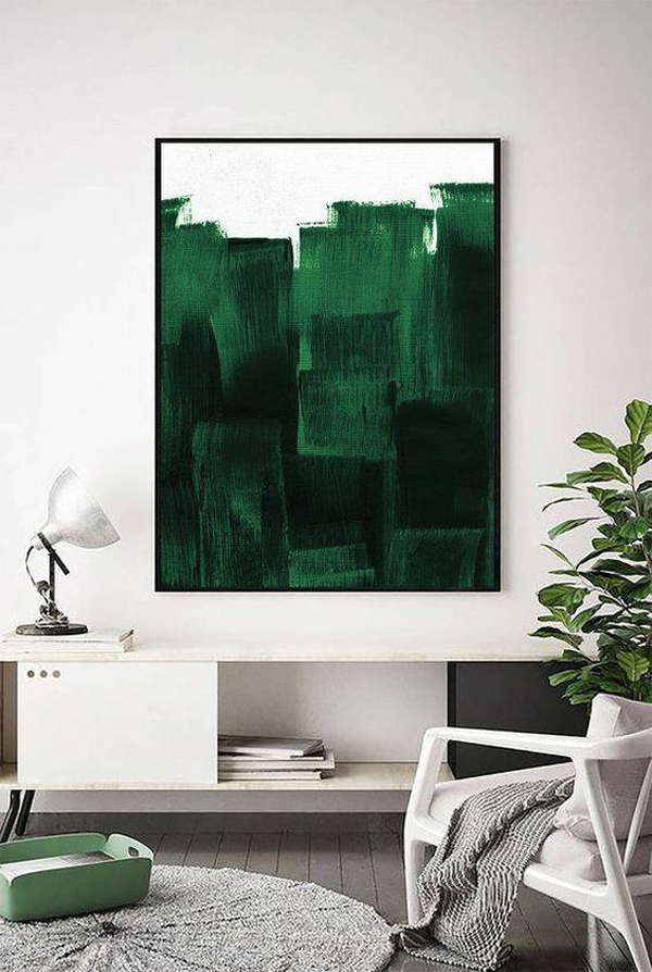 Beautiful-painting-with-deep-green-color