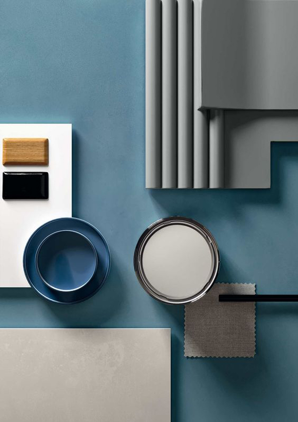 Blue-and-grey-interior-design-in-the-board-material-layout