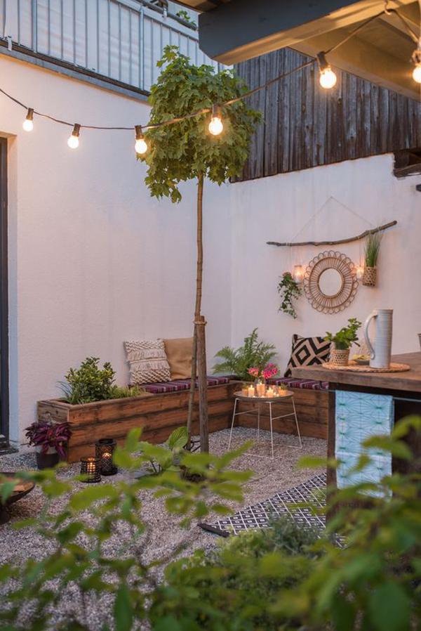 Boho-patio-decoration