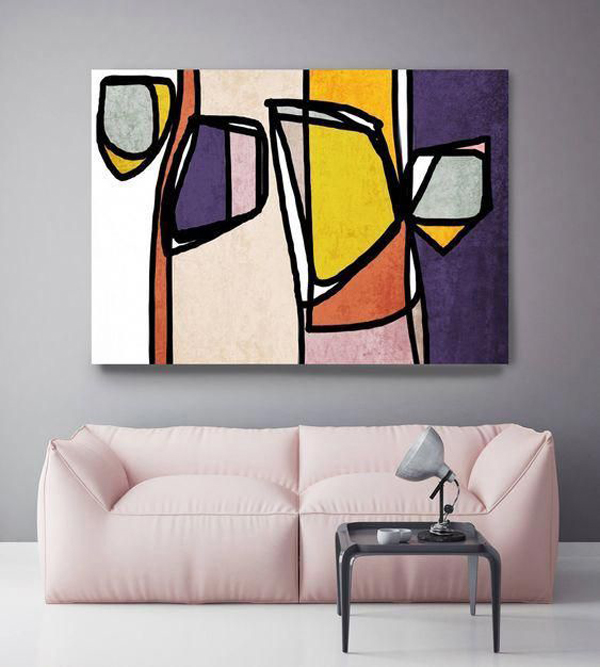Canvas-art-with-vibrant-colorful-design