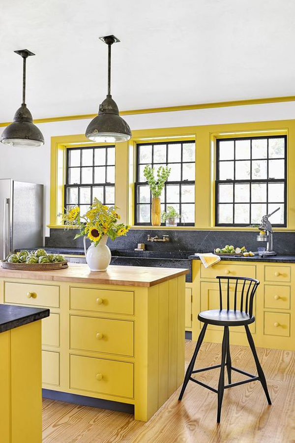 Lemon-yellow-in-your-kitchen