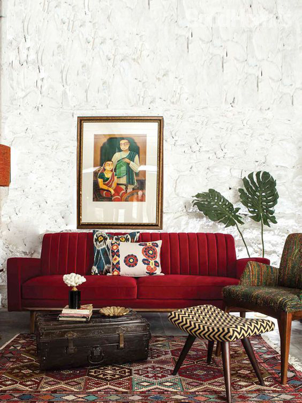 Old-living-room-style-with-red-sofa-furniture