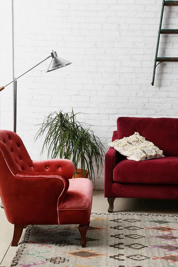 Velvet-furniture