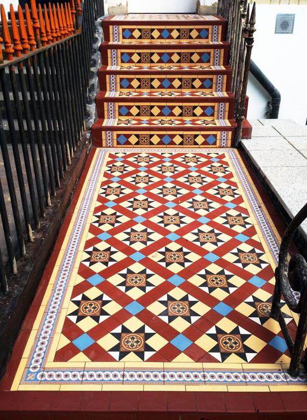 Victorian-floor-tiles