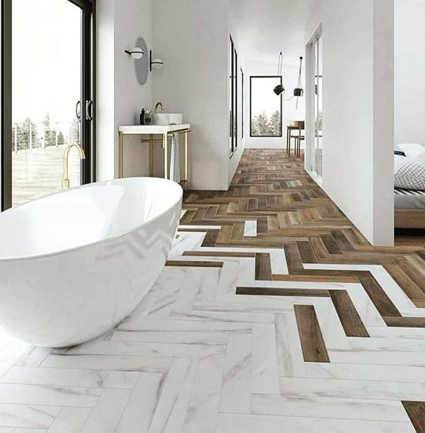 Wood-and-ceramic-flooring-decoration