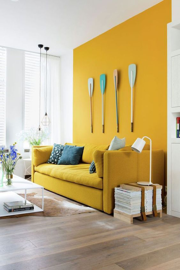Yellow-living-room-couch