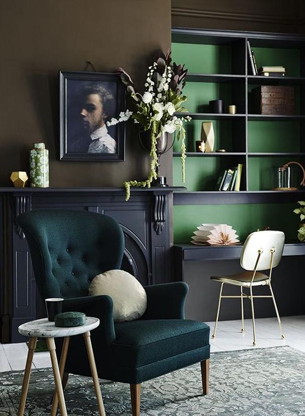 Dark-green-inside-the-shelves