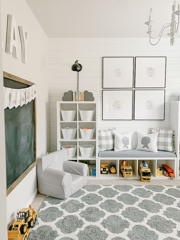 Gray-and-white-playroom-theme