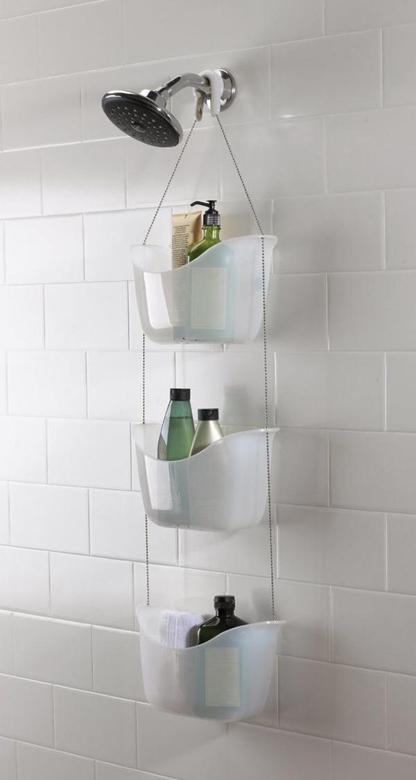 Hanging-shower-storage