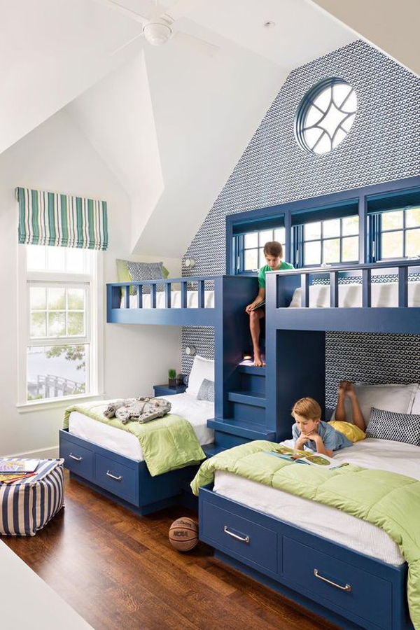 Kids-room-with-blue-theme