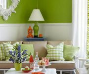 Living-room-with-light-green-decoration