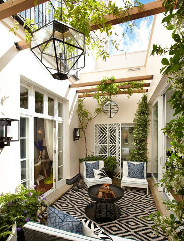 Outdoor-gather-room-with-small-fire-place