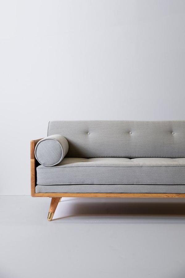 Rectangular-wood-sofa