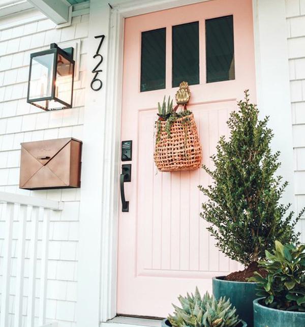 Beautiful-pink-door