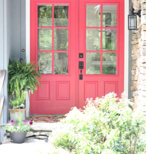 Bright-pink-for-your-door-color
