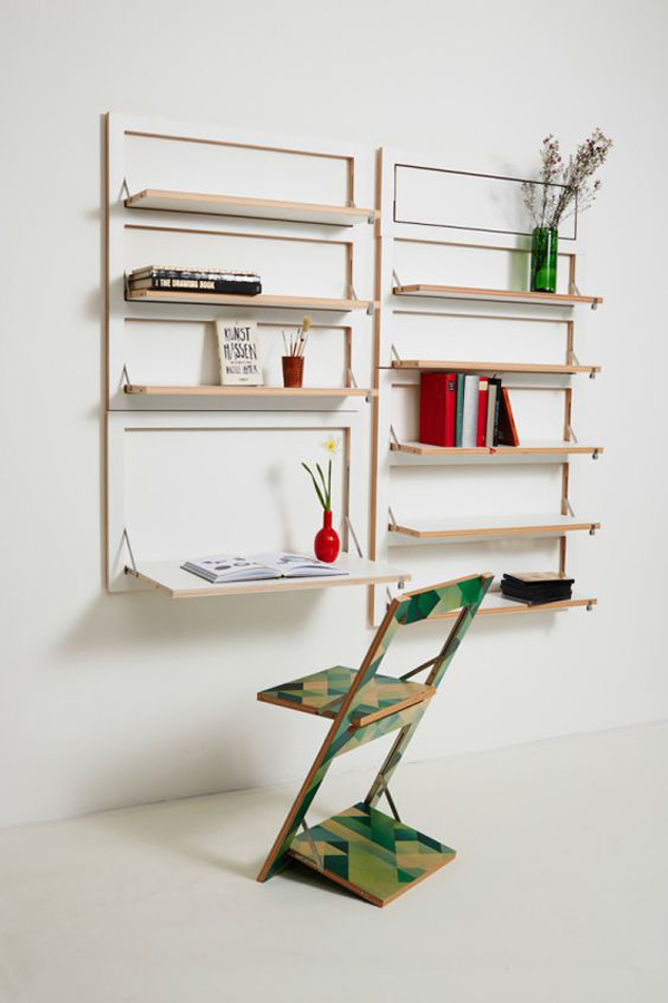 Simple-and-low-budget-wall-shelving