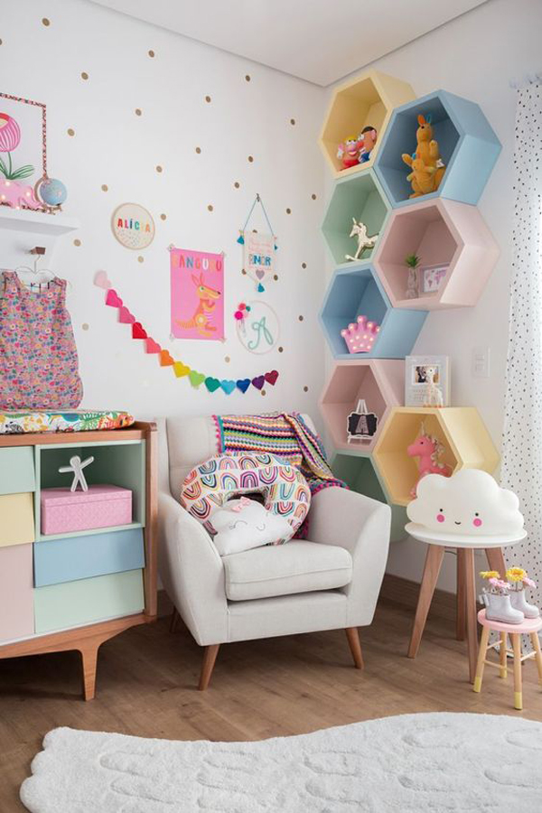 Storage-on-the-wall-using-colorful-boxes