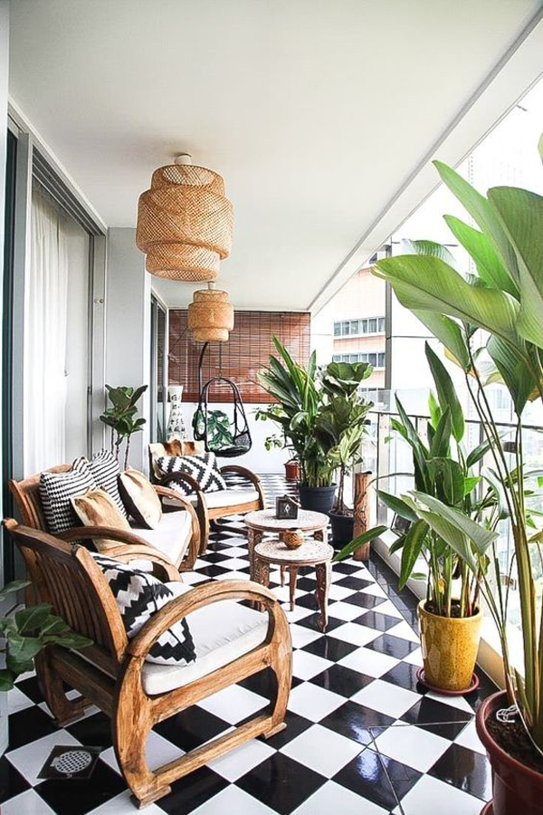 Stylish-Singapore's-terrace-design