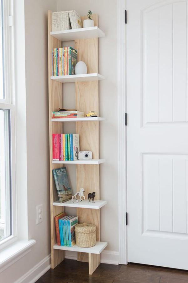 Vertical-reading-corner-shelf