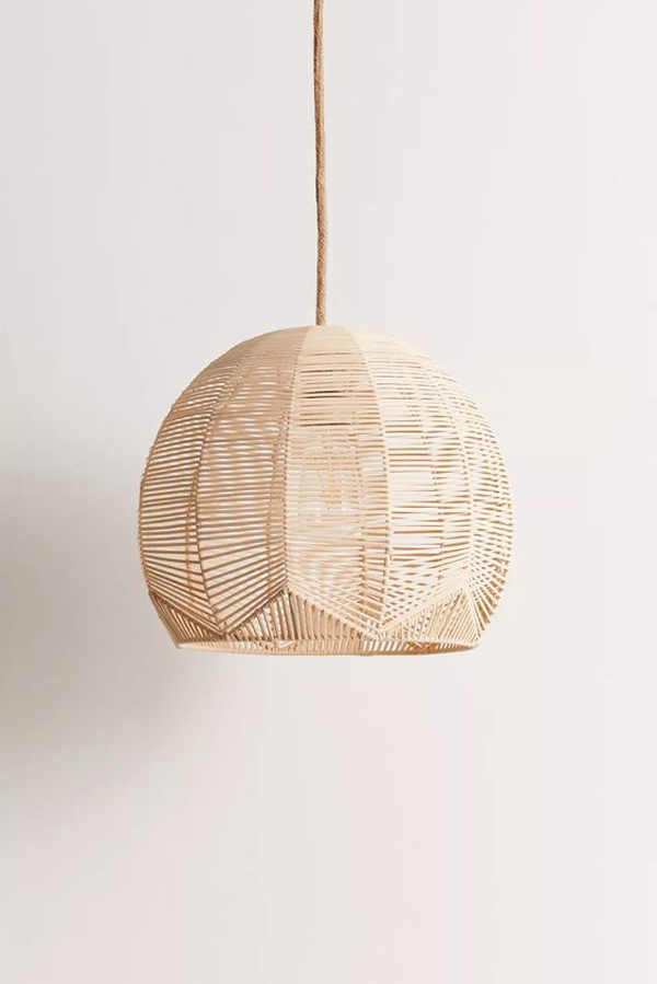 Bamboo-woven-pendant