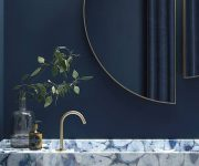 Blue-bathroom-style