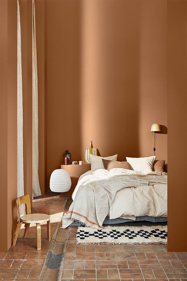 Brown-color-for-your-bedroom