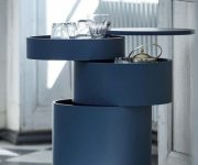 Coffee-table-with-dark-blue-color