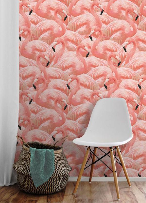 Flamingo-stick-wallpaper