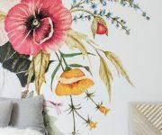 Flower-murals