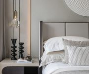 Gray-and-white-bedroom-color