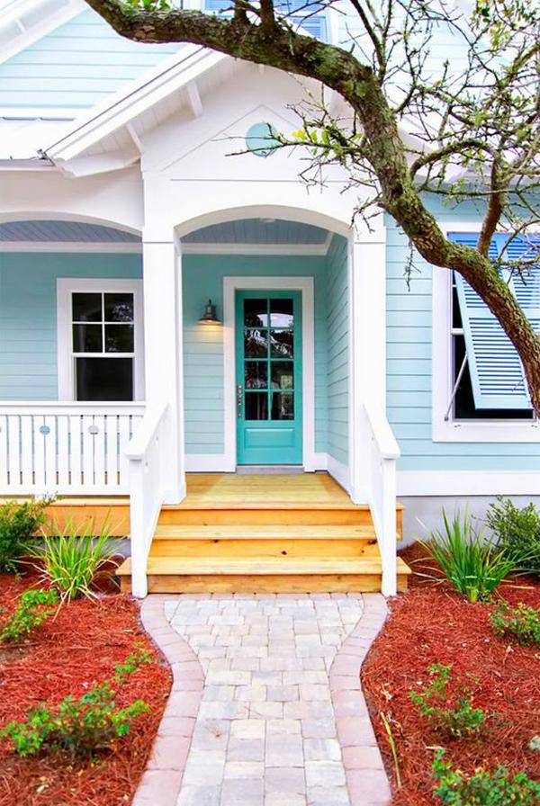 Light-blue-and-white-exterior-design