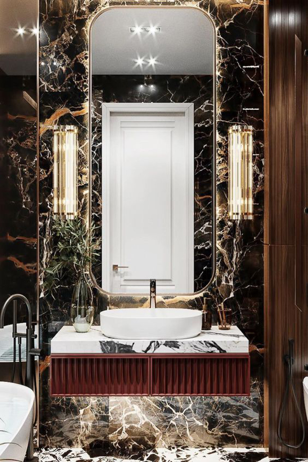 Luxurious-bathroom-with-marble-installation