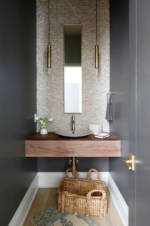 Powder-room-with-rectangular-mirror
